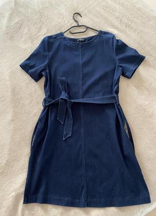 Джинсовое платье next