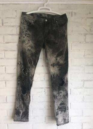 Кастомные штаны джинсы asos custom
