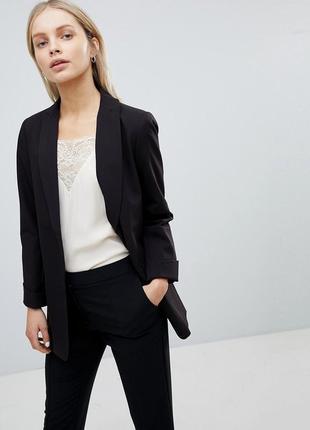 Удлиненный пиджак блейзер жакет от asos