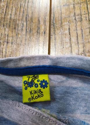 Кофта, реглан хлопок, kiki&koko, р.98, 2-3года2 фото
