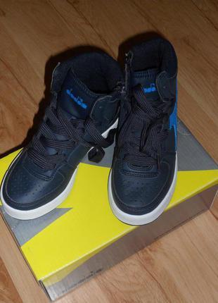 Ботинки-кроссовки diadora, 100% оригинал, размер 30