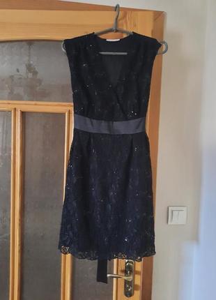 Нарядне плаття з пайотками