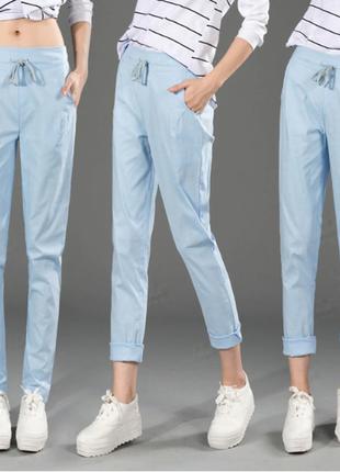 Хлопковые летние штаны