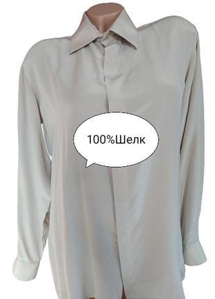 Шелковая блуза рубашка кофточка ost asien haus