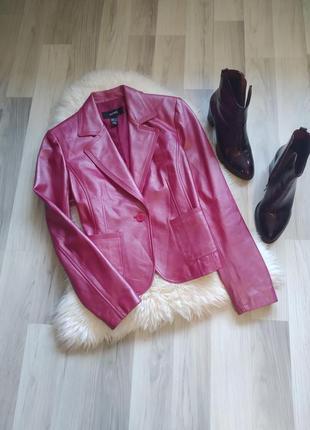 Куртка, пиджак классика, кожа натуральная