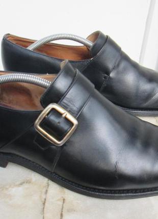 """Кожаные туфли монки """" сhurchs """" 44  р. ( 29 см ). англия."""