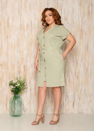 Платье 48+