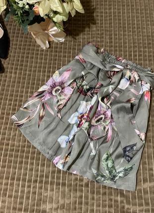 Стильні шорти в принт zebra1 фото