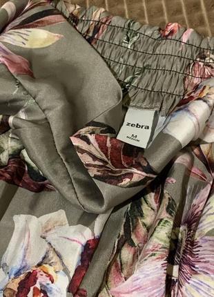 Стильні шорти в принт zebra4 фото