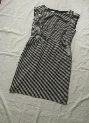Платье летнее в полоску uk16 monsoon