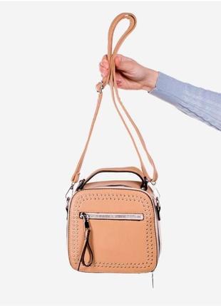 Коричневая женская сумочка / новинка/ мода