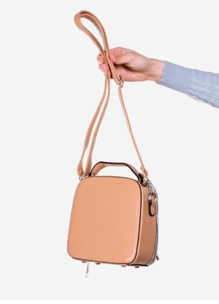 Коричневая женская сумочка / новинка/ мода3 фото