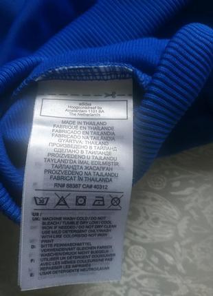 Кофта бомбер на замке adidas 3-4года 98-104р оригинал4 фото