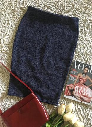 Плотная юбка карандаш