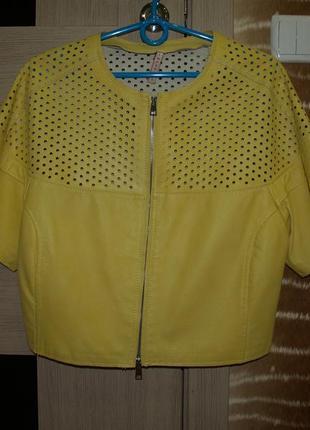 Кожаная куртка imperial