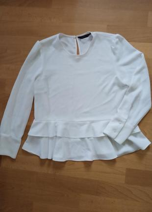 Белая блуза от ,, zara,,