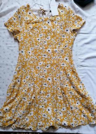 Новое платье в цветочек