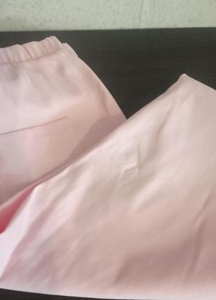 Штани укорочені персикового кольору