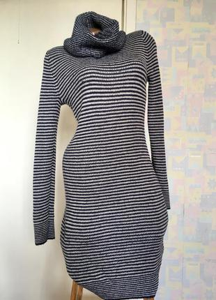 Очень тёплое платье миди h&m