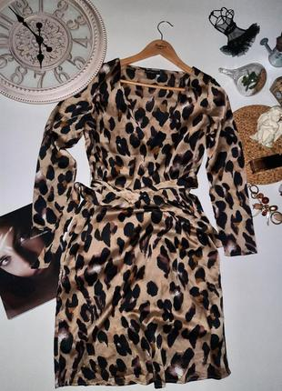 Стильное миди платье актуальный принт