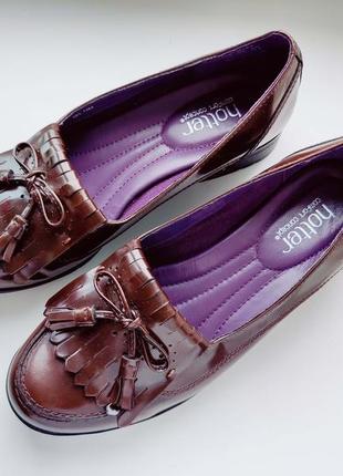 Кожаные женские туфли  артикул: 9048