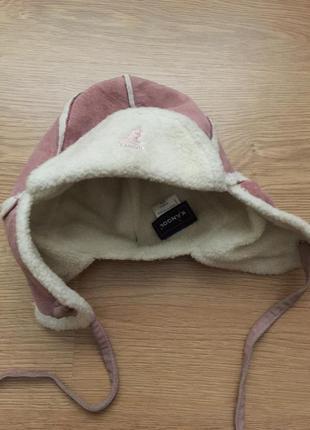 Kangol тёплая шапка