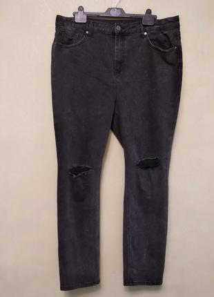 Demi high waist mom  джинсы с завышенной талией
