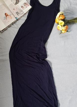 Платье сарафан майка длинное легкое вискоза
