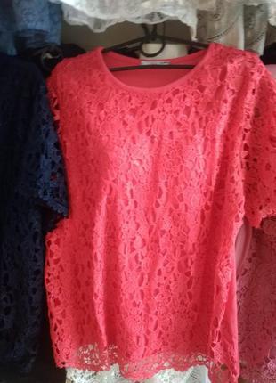 Нарядная блуза-италия