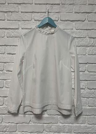 Белоснежная блузочка