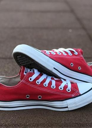 Кеды converse chuck taylor all star red унисекс