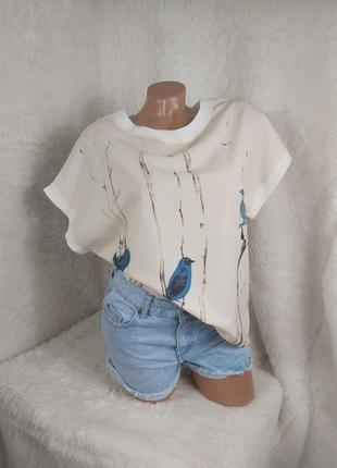 Шикарная блуза майка футболка