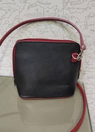 Кожаная сумка сумочкаvera pelle