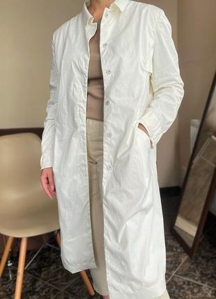 Удлиненный пиджак, куртка, пальто  jil sander оригинал