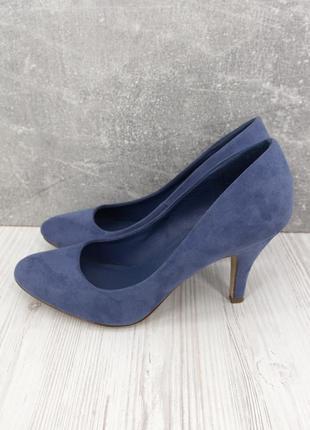 """Стильные туфли лодочки """"graceland"""" на каблуке. размер uk4/eur 37."""