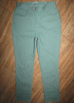Красивые джинсы р-р м-38 сост новых damart