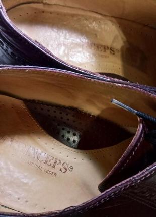 Кожа! туфли vero cuoio италия5 фото