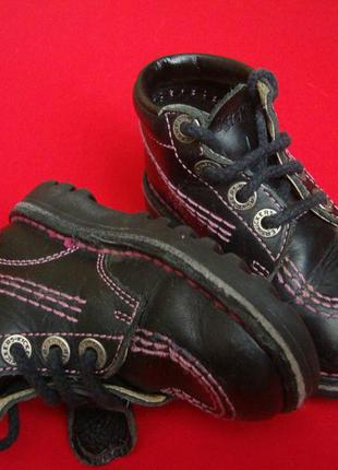 Ботинки kickers ортопед натур кожа 22-23 размер2