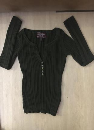 Кофта кофточка свитер джемпер реглан abercrombie
