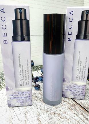 База под макияж becca first light priming filter face primer