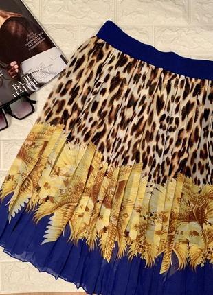 Шифоновая лёгкая юбка