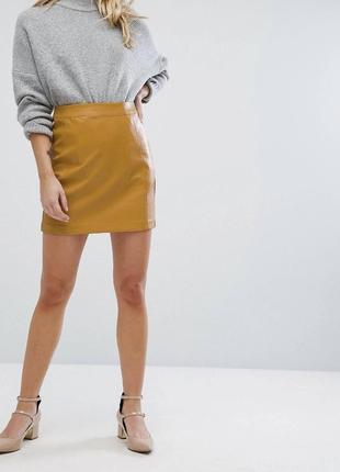 Шкіряна юбка, кожаная юбка, шкіряна спідниця, юбка, спідниця, кожаная мини юбка