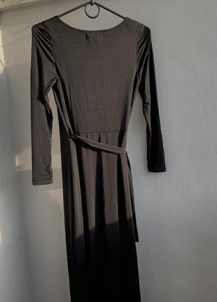 Платье на запах5 фото