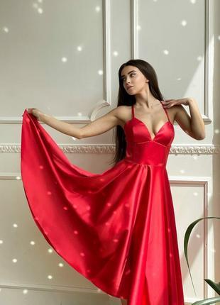 Платье с корсетным лифом4 фото