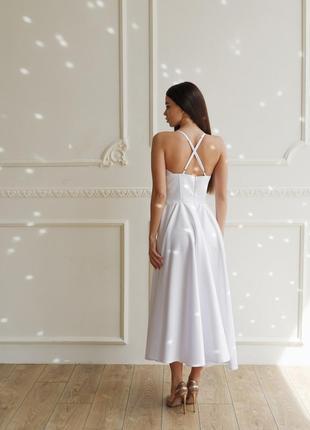Платье с корсетным лифом5 фото