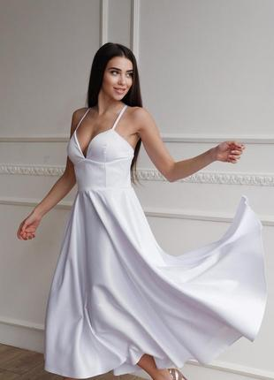 Платье с корсетным лифом3 фото