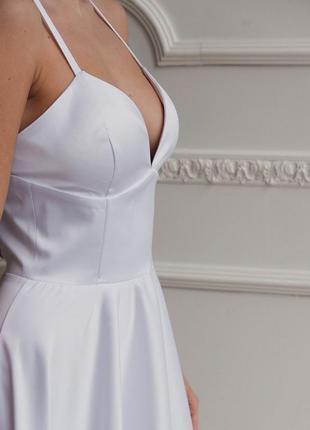 Платье с корсетным лифом6 фото