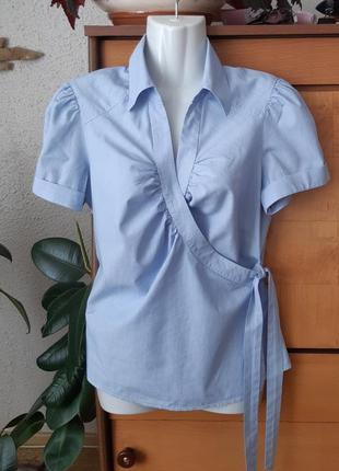 Легкая блузка на запах