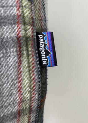 Patagonia мужская клечатая рубашка фланельная размер л3 фото
