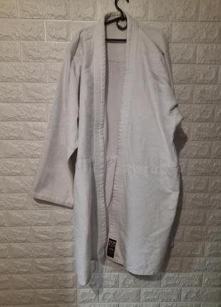 Кимоно для дзюдо 180см, белое